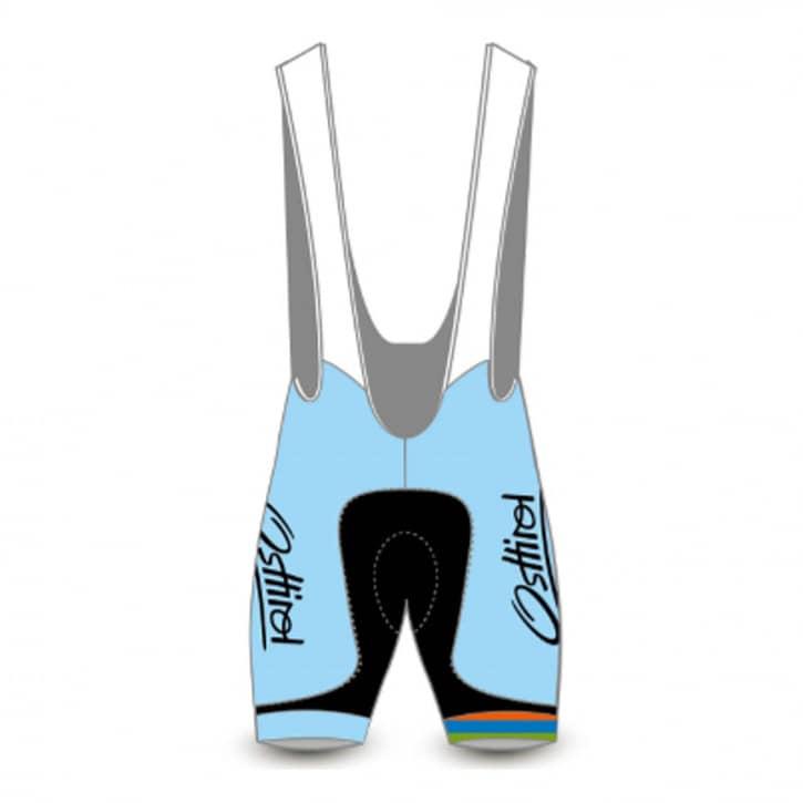 Bekleidung: Sicleri Fitstore24 Team Bib kurz azzurro