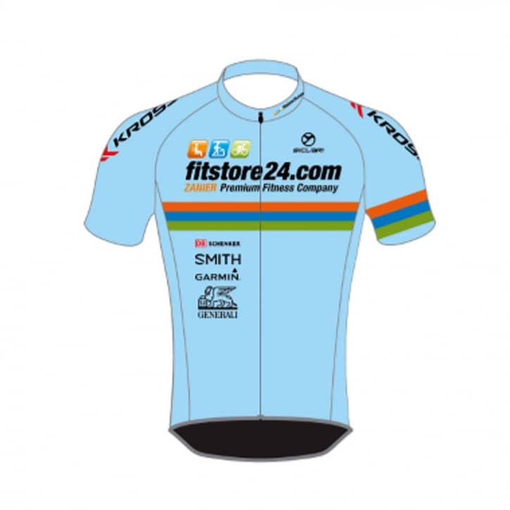 fitstore24-teamtrikot-kurz-azzurro-xxs
