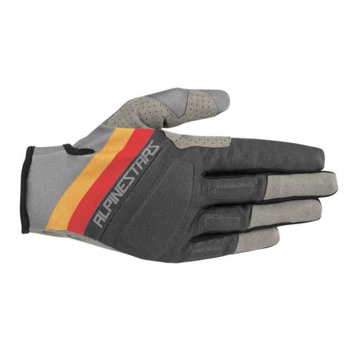 Bekleidung/Handschuhe: Alpinestars  Aspen Pro Glove Mid Gray Ochre Red
