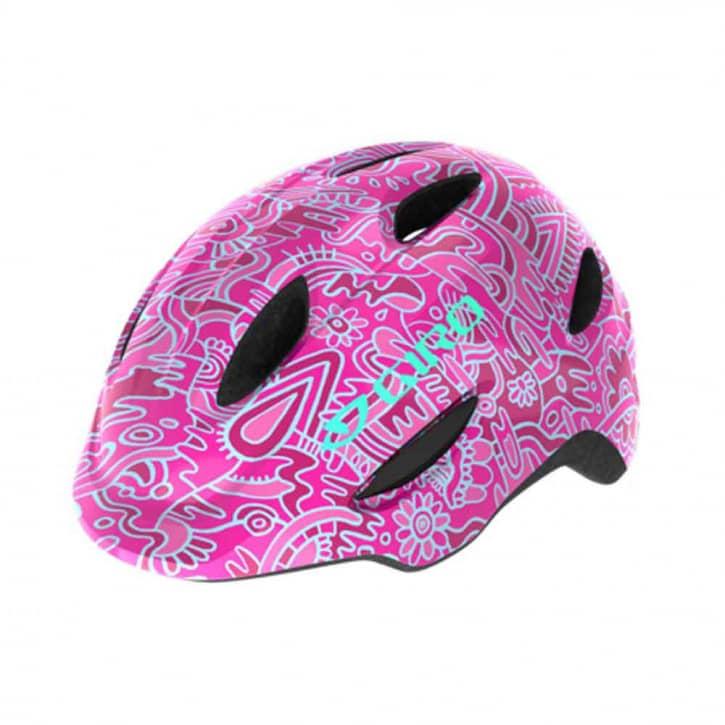 giro-scamp-fahrradhelm-pink-flower-land-xs