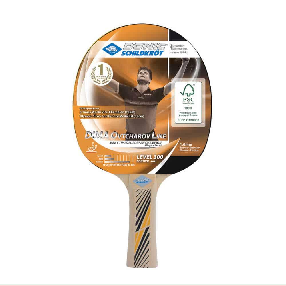 Donic Schildkröt Schildkröt Ovtcharov 300 FSC Tischtennis-Schläger 705232