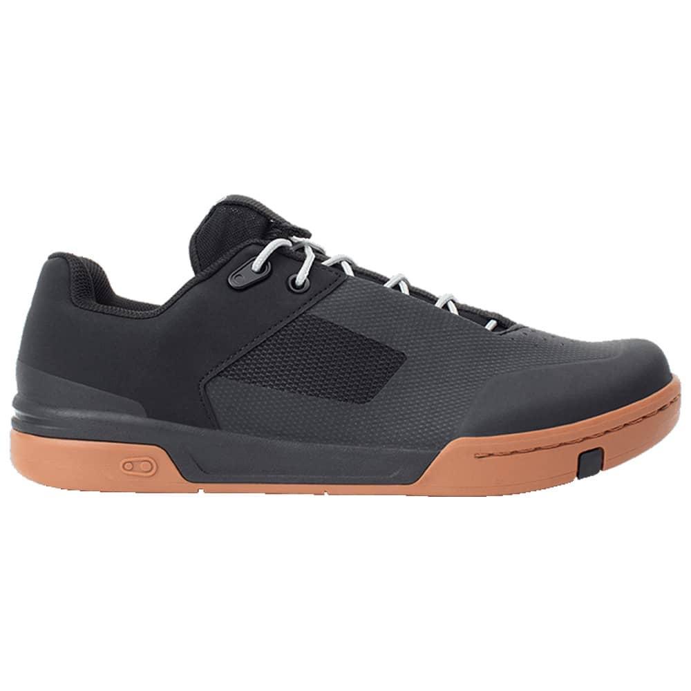 Size 12 Crank Brothers Stamp Lace Men/'s Flat Shoe Black//Red//Black