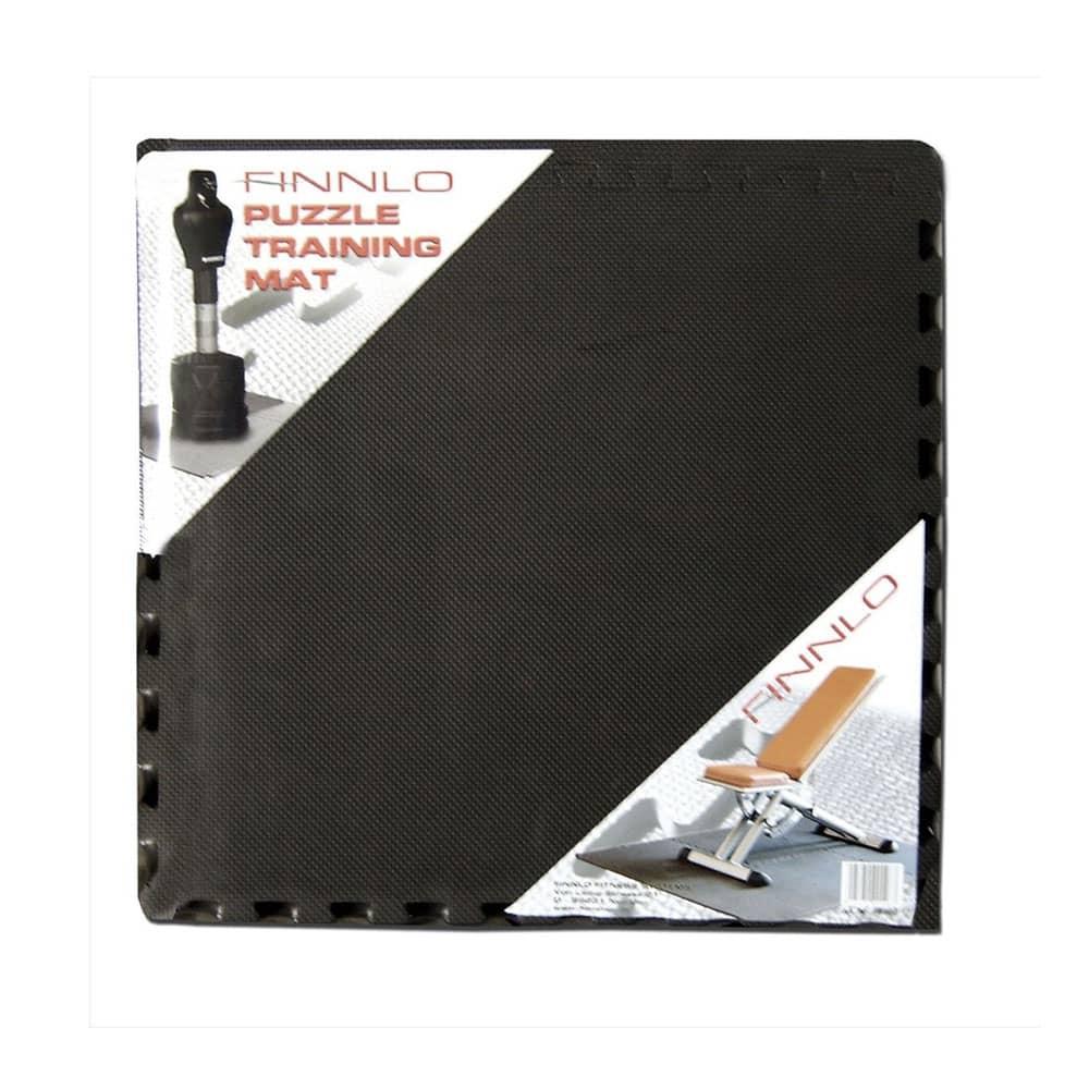 Finnlo Bodenschutzmatte Puzzlematte 185 x 120 cm schwarz 99996