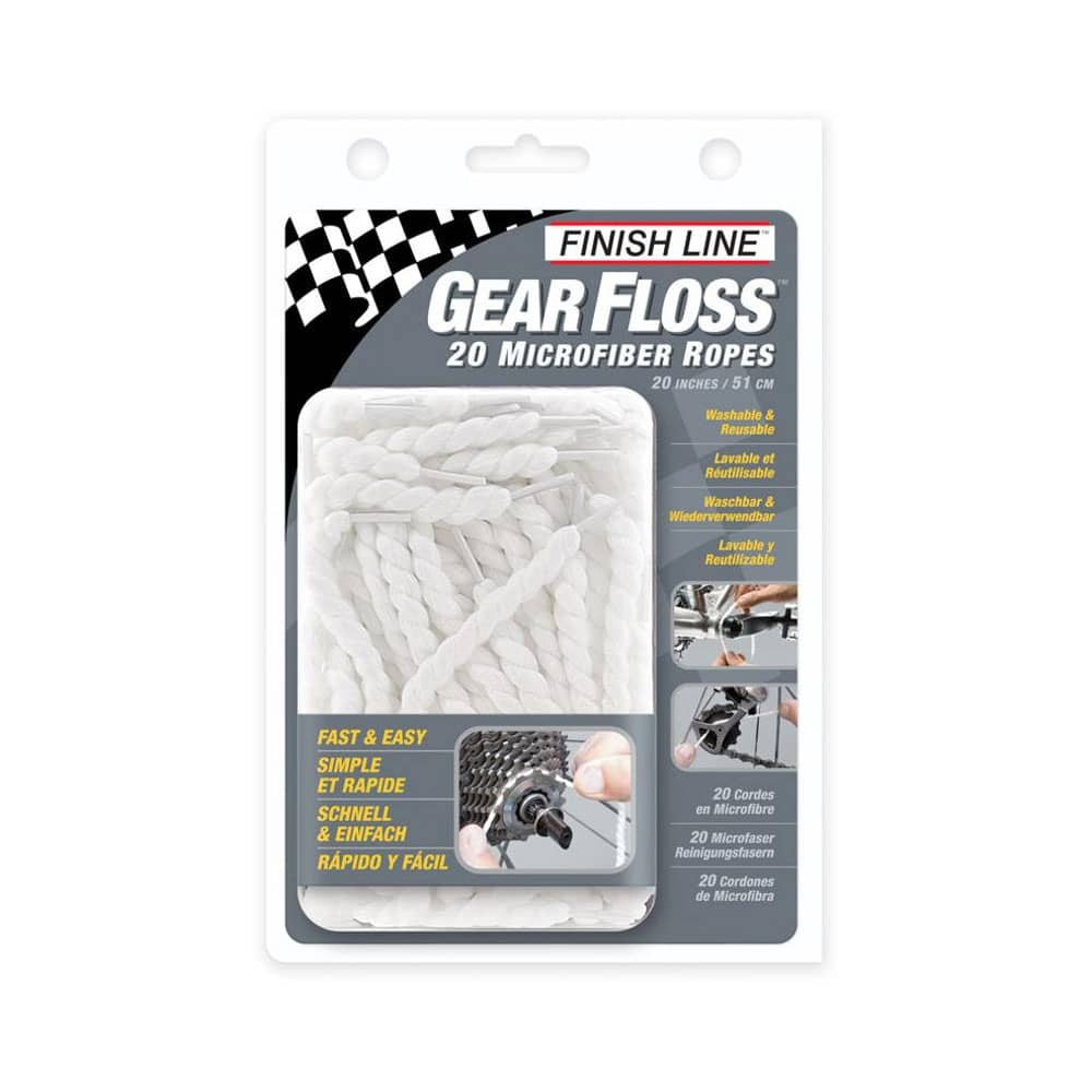 Finish Line Gear Gloss Zahnseide 20-er Set 35802